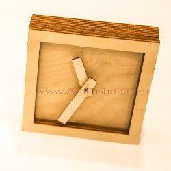 ساعت رومیزی سیمپل طرح مربع