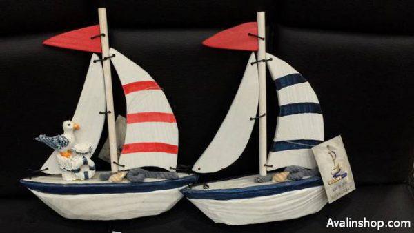 کشتی بادبانی چوبی