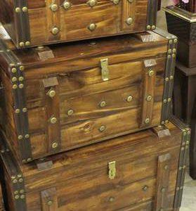 صندوقچه چوبی طرح قدیمی