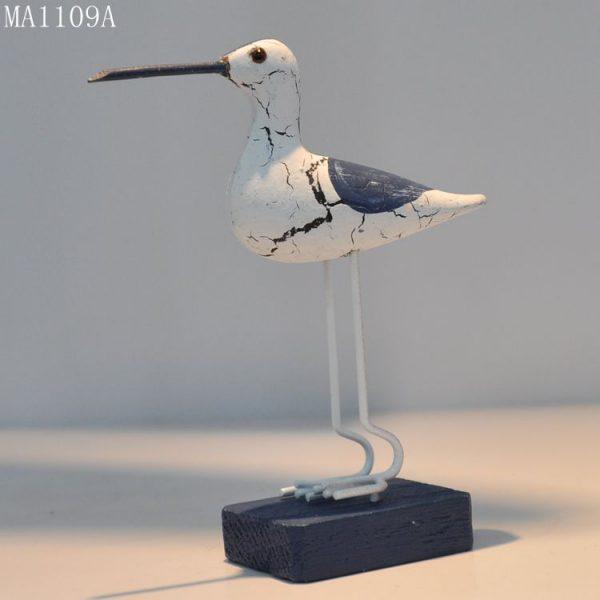 پرنده دریایی چوبی مدیترانه ای