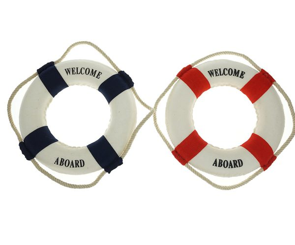 حلقه نجات دریایی دکوری