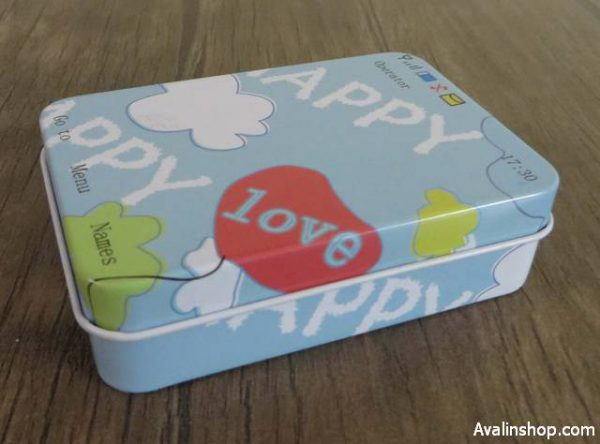 جعبه کادویی فلزی Happy