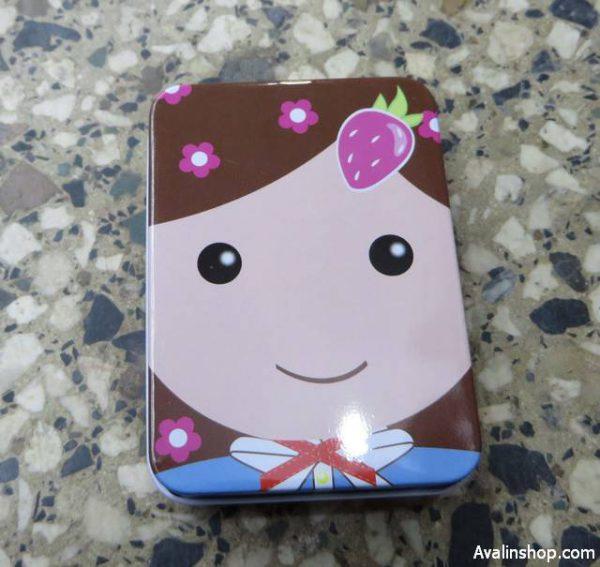 جعبه کادویی فلزی Girl