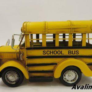 اتوبوس مدرسه فلزی دکوری 8555