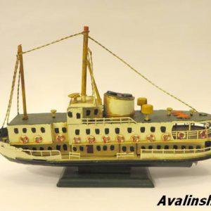 کشتی فلزی دکوری 8561