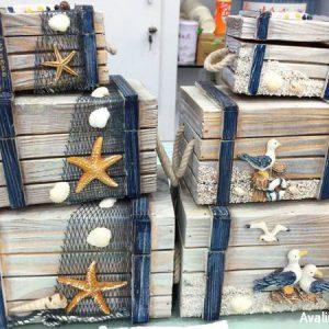صندوقچه چوبی دزدان دریایی