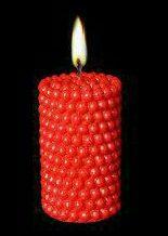 شمع استوانه مروارید متوسط