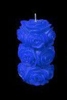 شمع قطور گل رز درشت