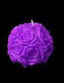 شمع توپ گل رز درشت