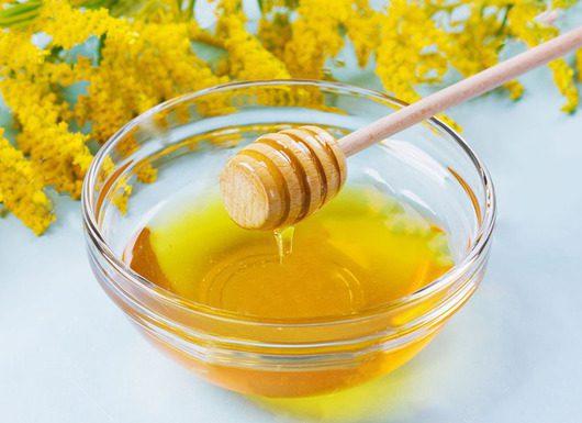 قاشق عسل چوبی