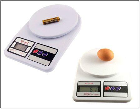 ترازوی آشپزخانه دیجیتال