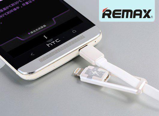 کابل اپل و اندروید REMAX