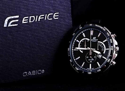 ساعت 3 موتوره کورنوگراف CASIO EDIFICE