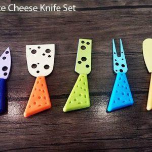 ست 5تایی پنیر خوری CHEESE KNIFE SET