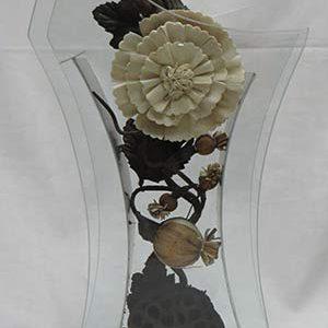 گلدان شیشه ای مدل A