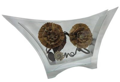 گلدان شیشه ای مدل S