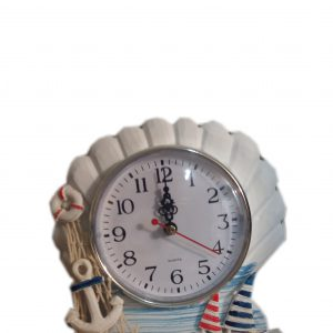 ساعت رومیزی صدف دریایی