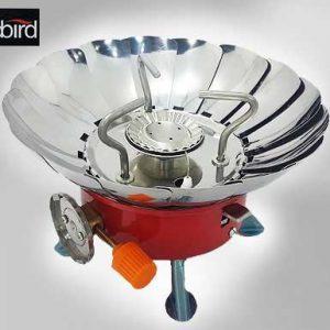 اجاق کوهنوردی و ضد باد LED BIRD