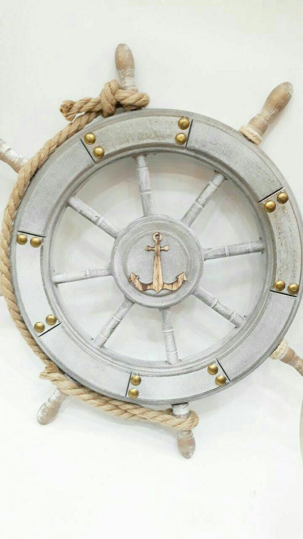 سکان کشتی چوبی طوسی