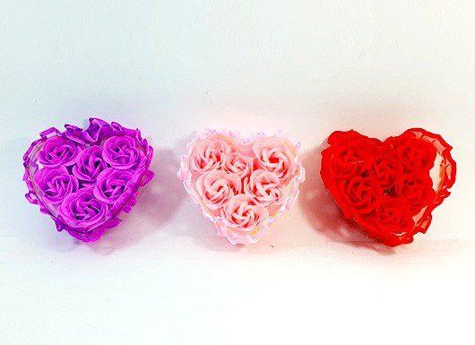 صابون های تزئینی معطر طرح گل